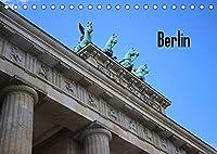 Berlin (Tischkalender 2022 DIN A5 quer): Berliner Sehenswuerdigkeiten (Monatskalender, 14 Seiten )