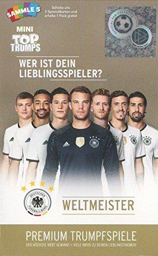 Winning Moves 62400 - Top Trumps Mini - DFB Weltmeister - Quartett