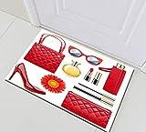 ZHWL6688 Bolso de Girasol con Barra de Labios de tacón Alto para Mujer