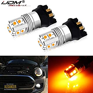 ODIN- Signal Lamp - iJDM Amber Error Free PWY24W LED Bulbs for A3 A4 A5 Q3 for i3 MINI Cooper F55 F56 for GLK Front Turn S...