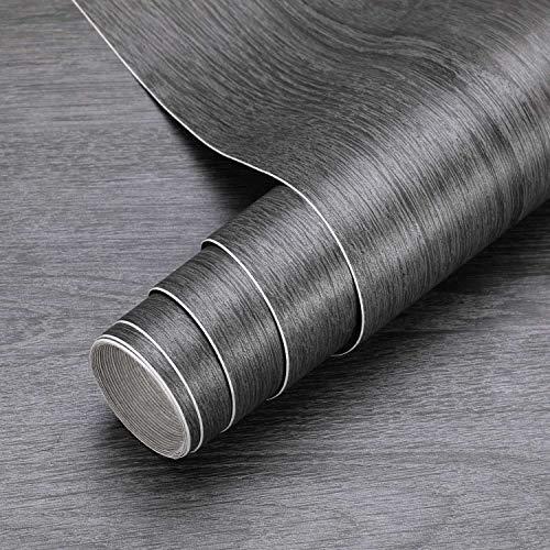KINLO Holztapete Klebefolie Selbstklebende Folie Wandtapete Naturholz Möbelfolie Dekorfolie 0.61 * 5M Tapeten Wandaufkleber aus PVC 0.61 * 5M Farbe A