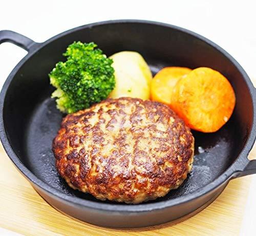 [スターゼン] 国産牛肉 豚肉 合挽 ハンバーグ 60個 6kg (6個×10P) 訳あり 冷凍食品 国内製造 業務用 冷凍