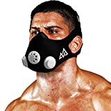 Elevation Training Mask 50-0151 - Máscara de Entrenamiento, Color Negro, Talla M