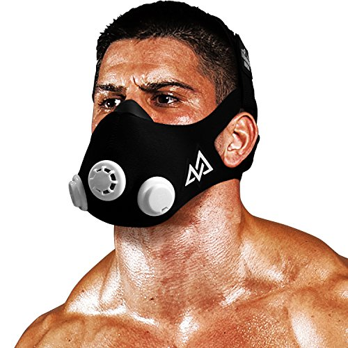 Elevation Training Mask Trainingshilfe Mas 2.0, schwarz, 70 - 110kg, 50-0151