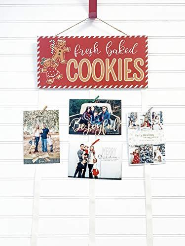 Christmas Card Holder - Fresh Baked Cookies