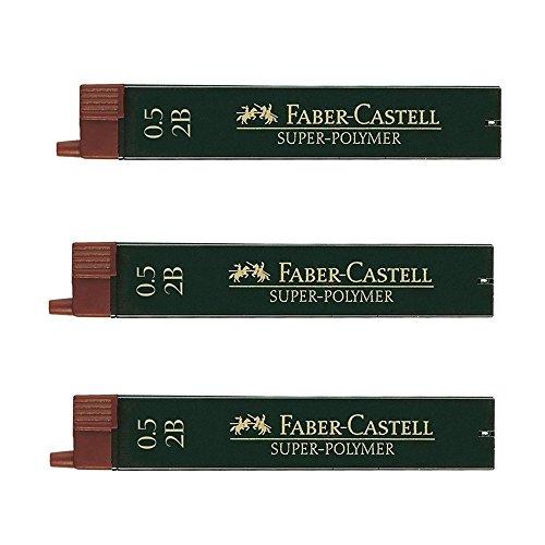 Faber-Castell 0,5 mm 2B Super-Polymer-Fineline (3 Packungen à 12 Stück)