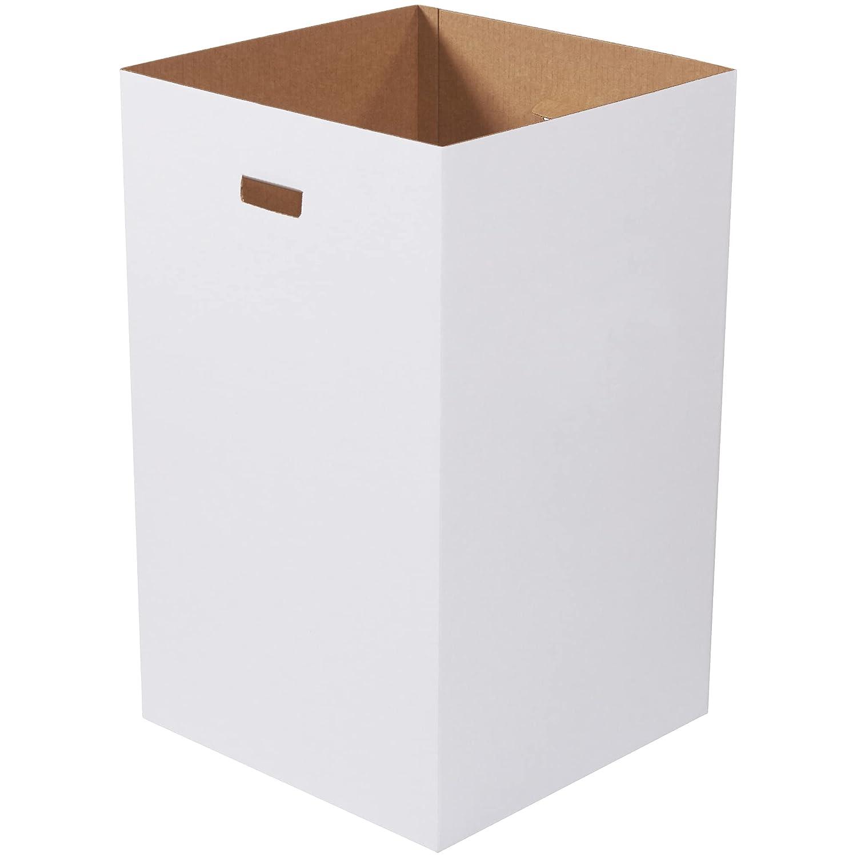 Japan Maker New Aviditi 40 Gallon Corrugated Cardboard Detroit Mall and Trash Recycling Can B