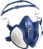 Maschera solventi 4251 FFA1P2RD 4Pkt fascia testa 3M EN405:2001+A1:2009