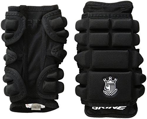 Brine LoPro Superlight Defense Lacrosse Arm Pad (Medium, Black)