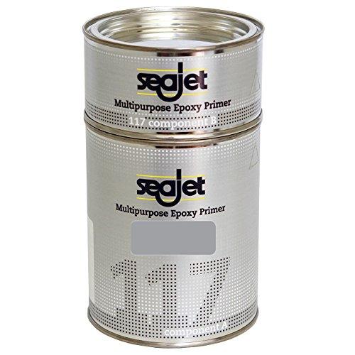 Seajet 117 universeller Epoxy Primer 1 Liter, Farbe:Silber
