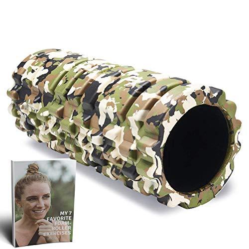 Foam Roller -  Rodillo de Espuma para Terapia de Masaje # Para Masajes Muscular Fitness Pilates Yoga -  La Mejor Herramienta para Deportivo -  Tejido Profundo Liberación Miofascial y Alivio de Dolores