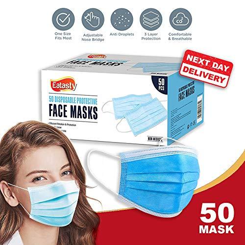 Urban Classics NASA Face Mask Masques de tous les jours Taille unique Mixte Black