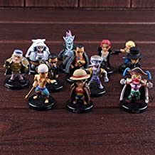 Scallion Action Figure Luffy Shanks Lucci Crocodile Moria Buggy Enel Sabo PVC Onepiece Figure Collectible Model Toy 12Pcs/Set Must Have Toys 21St Birthday Gifts Toddler Favourite Superhero Stickers