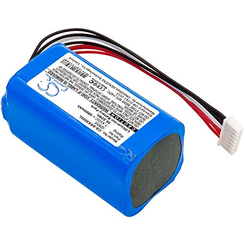 cellePhone batería Li-Ion para Sony SRS-X30 SRS-XB3 (reemplazado ID659) - 6800 mAh