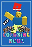 Roblox Coloring Book: Roblox +50 Coloring pages, learn how to draw Roblox Characters step by step, Cute Gift for kids, for girls, for Teens and adults ... Drawings: Characters, Skin, Weapons & Other