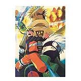 Car-tobby Anime Naruto Póster de Pared Papel Póster Hogar BAR Café Pared Decorativa Pintar
