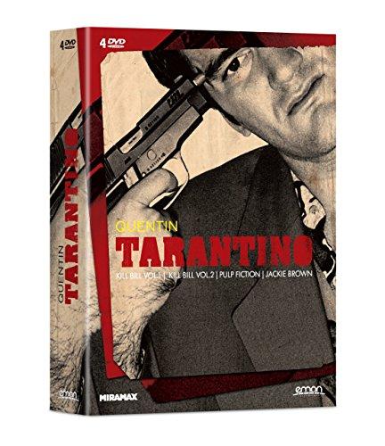 Pack Tarantino: Kill Bill Volumen 1, Kill Bill Volumen 2, Pulp Fiction, Jackie Brown [DVD]