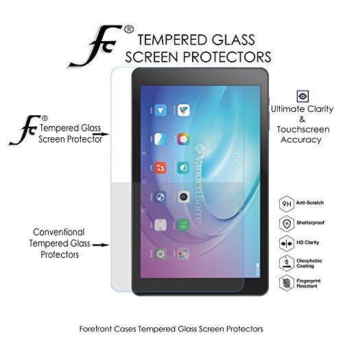 Forefront Cases Gehärtetes Glas Bildschirm Schutz Protektor Folie für Huawei MediaPad T2 10.0 Pro - HD Qualität Ultra Dünn nur 0.3mm - 2 Stück - 2
