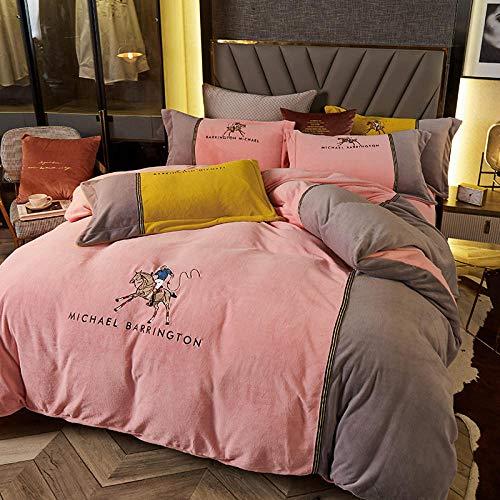 Shinon christmas duvet cover superking,Seersucker Duvet Cover with Pillow Case Bedding Set-G_2.0m bed (4 pieces)