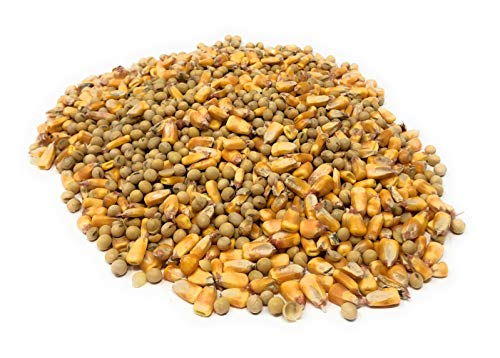 Wildlife Mix for Deer, Squirrels, Birds - Iowa Grown Soybeans and Feed Corn - Great for Crafts and Games Too