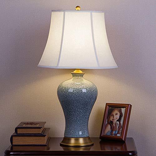 Moderne tafellamp van keramiek in Europese stijl in moderne Chinese stijl slaapkamer slaapkamer decoratie High idee-A_Multi_31-40W