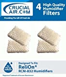 Crucial Air Filter Replacement Parts Compatible with ReliOn Part # WF813 - Fits ReliOn WF813 2-Pack Humidifier...
