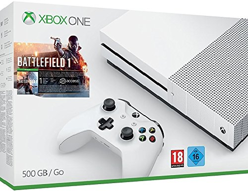 Xbox One - Pack Consola S 500 GB: Battlefield 1: Amazon.es ...
