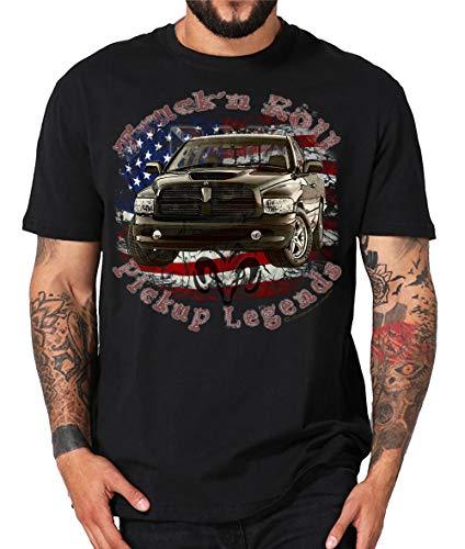 RAM, t-shirt de camouflage américain V8 Muscle car ou sweat à capuche - Noir - XXXL