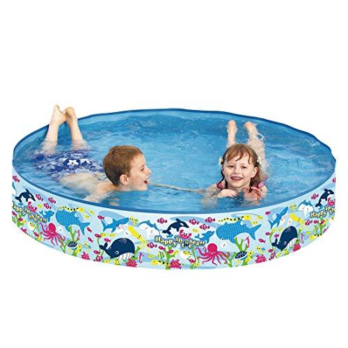 Jilong Planschbecken Happy Sea Pool ø150 x 25 cm Kinderpool Schwimmbecken mit festen Wänden