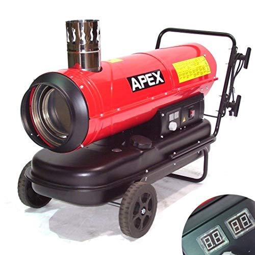 Indirekt Ölheizer Heizkanone 55215 Bauheizer 30kW Heizgerät Ölheizung Heizung AWZ