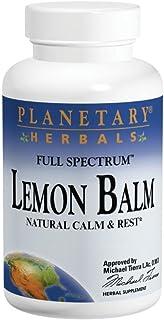 Planetary Herbals Lemon Balm Full Spectrum 500 Mg, 60 Count