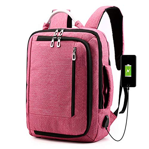 Laptop Backpack 15.6 inch,Travel Computer Bag with USB Charging Port,Water Resistant School Laptop Bags for Women and Men