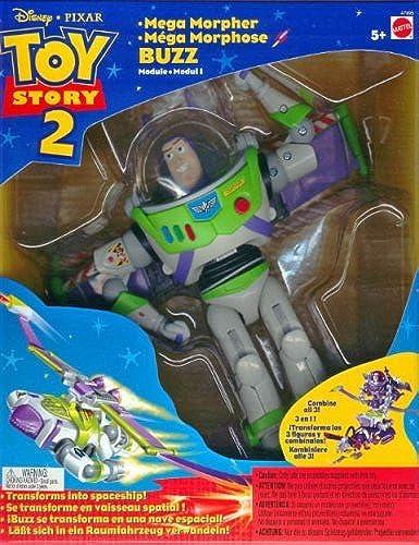 Disney Toy Story Buzz Lightyear Mega Morpher Action Figure