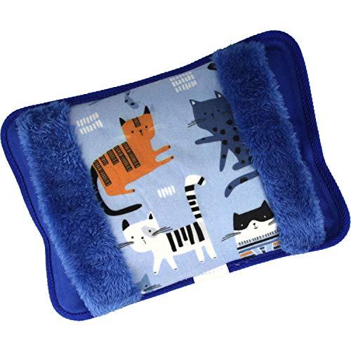 MovilCom® Bolsa de Agua Caliente Eléctrica | Caliente en 15 min | Calientamanos | Dolor muscular, espalda, menstrual (Mod 185)