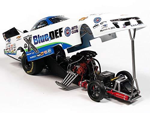 Autoworld 1/24 diecast Model of 2020 Peak Camaro #4 John Force BlueDEF NHRA Funny Car John Force Racing CP7681