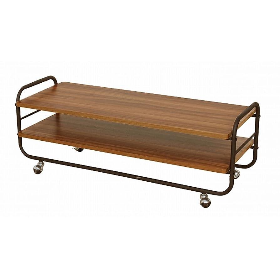 構築する適度な盗難BBファニシング テレビ台兼テーブル MUSH 幅105×奥行40×高さ41cm MUTB-105 MUTB-105