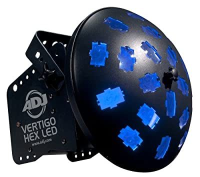 American DJ 1222300015 Vertigo Hex LED Light Effect Units