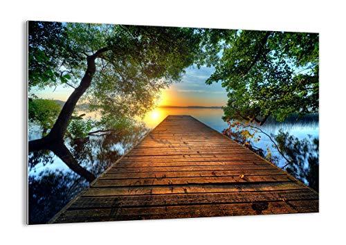 Bild auf Glas - Glasbilder - Einteilig - Breite: 100cm, Höhe: 70cm - Bildnummer 3528 - zum Aufhängen bereit - Bilder - Kunstdruck - GAA100x70-3528