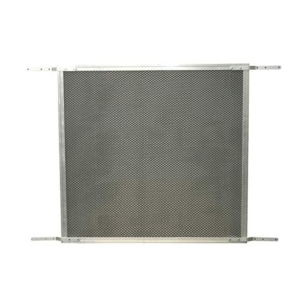 Make-2-Fit PL 15940-1 Patio Sliding Screen Door Grille, 48 in. x 26 in, Aluminum...