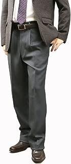 [UNITED GOLD] スラックス メンズ ワンタック 国産 ウール混紡 ビジネス ズボン パンツ5080