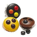 Erzi 13230 Muffins aus Holz, Kaufladenartikel für Kinder, Rollenspiele