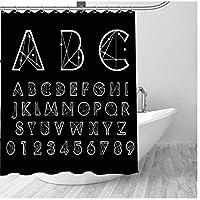 ShiSyan シャワーカーテン シャワーカーテンフックについては、180x180cmと一緒に家の装飾の数シンボル3Dエフェクトウォーターキューブカビ証拠水ポリエステルファブリックバスルーム バス用品