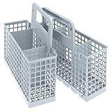 Spares2go Cubiertos Cesto Jaula para Miele Lavavajillas (6/3compartimento extraíble)