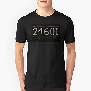 Prisoner 24601 Les Miserables Slim Fit TShirtT shirt Hoodie for Men, Women Unisex Full Size.
