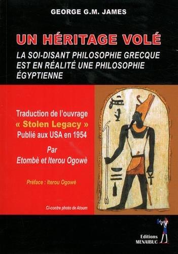 Ukradena zapuščina: tako imenovana grška filozofija je pravzaprav egipčanska filozofija