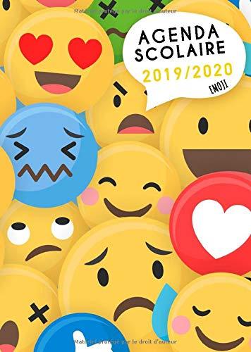 Agenda Scolaire 2019 2020 Emoji Timer Organisateurs Cahiers De Devoirs Et Calendriers De Aout 2019 A Aout 2020 Dessin Hyper Fun Emoji