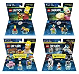 The Simpsons Homer + Bart + Krusty + Portal 2 Level and Fun Packs - Lego Dimensions (Non Machine Specific)