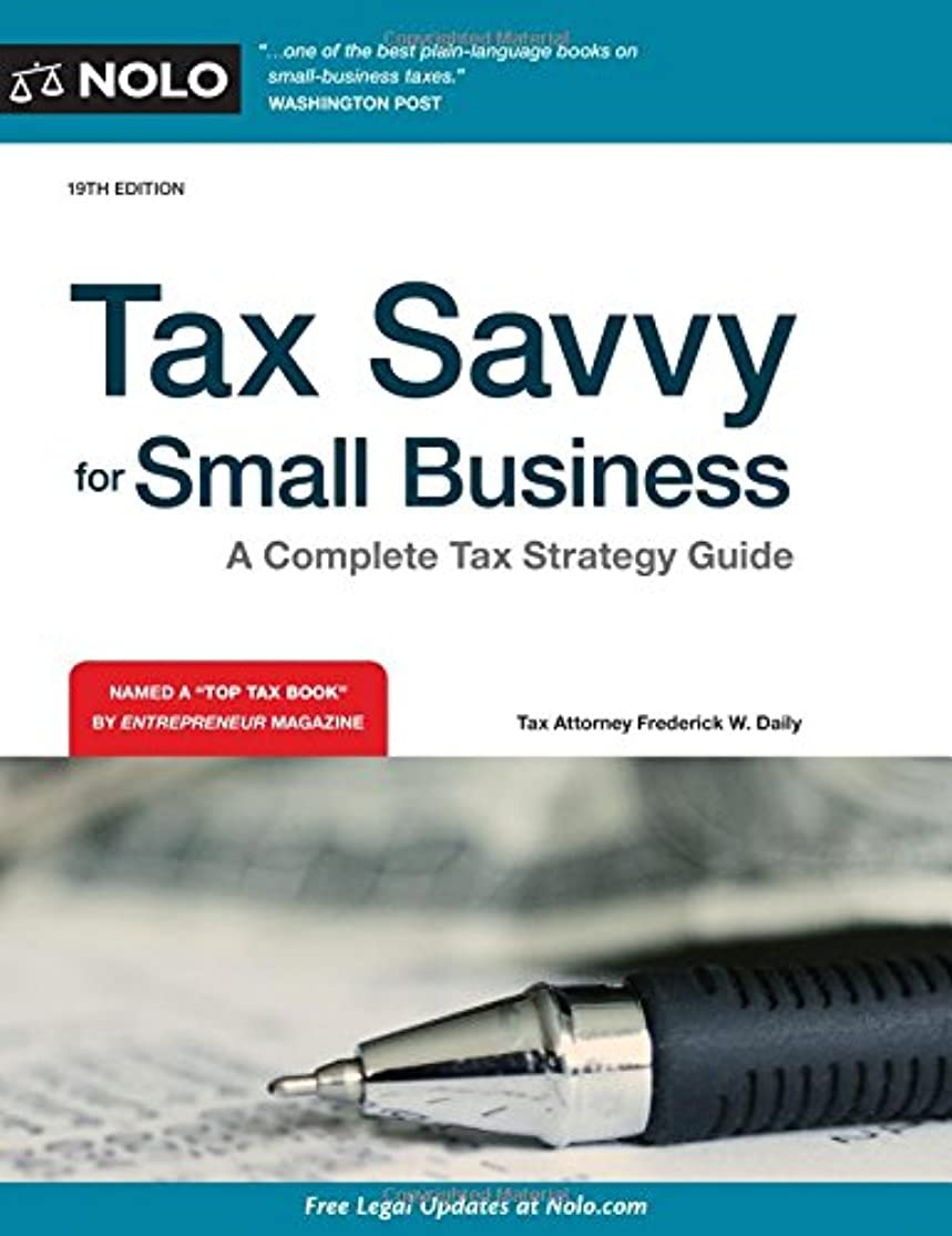 Tax Savvy for Small Business: A Complete Tax Strategy Guide hmbuijws2