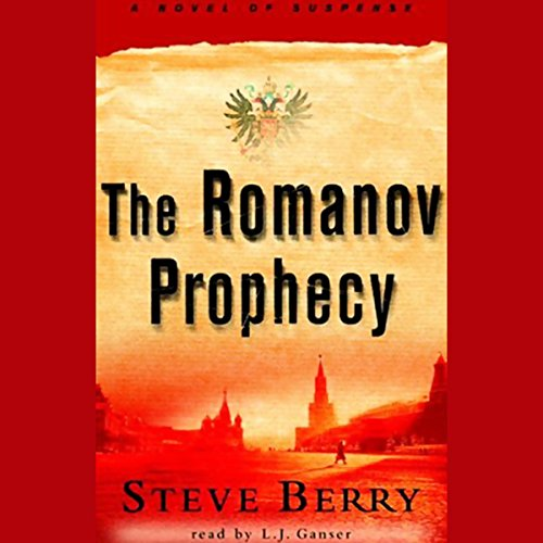 The Romanov Prophecy  audiobook cover art