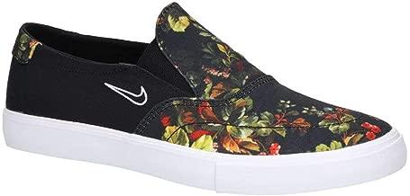 Nike SB Mens Portmore II Solar Slip (5.5 D(M) US, Black/White-Multi Color)